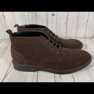 NEW Alfani Aiden Chukka Boot Brown Men's 13
